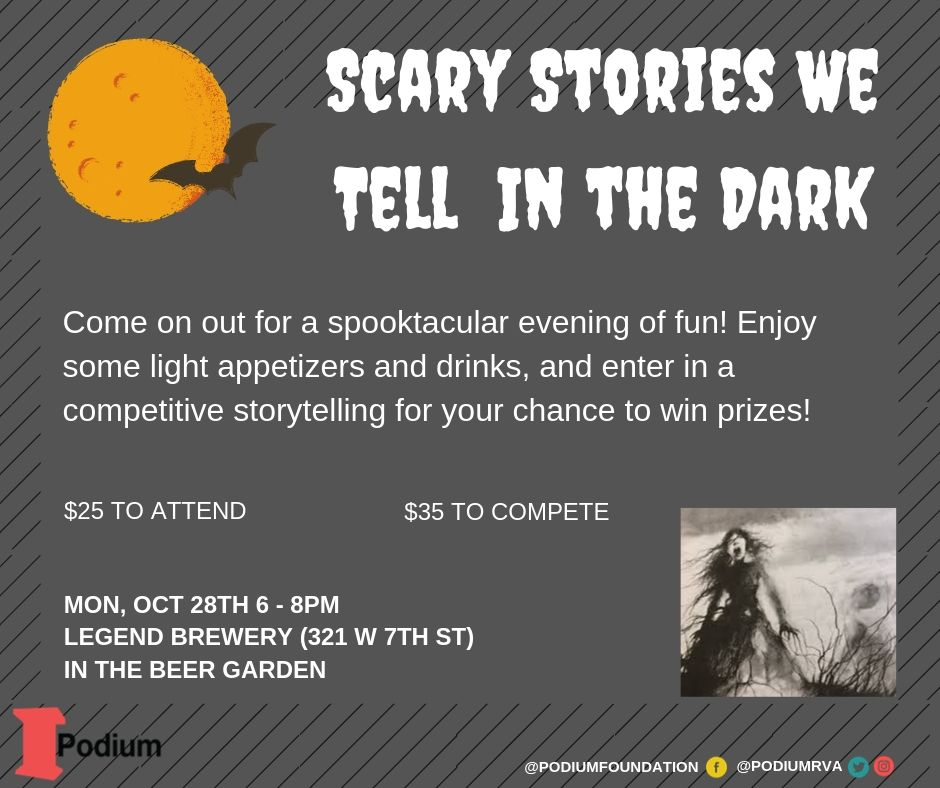 scary stories flyer